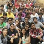 Anmol Aggarwal And Prateek Shukla's View Of The Pink City, Jaipuria Institute of Management, Jaipur