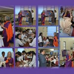 A workshop on 'learning beyond the classroom' conducted at Jaipuria Jaipur by Industry expert Dr. Rupande Padaki