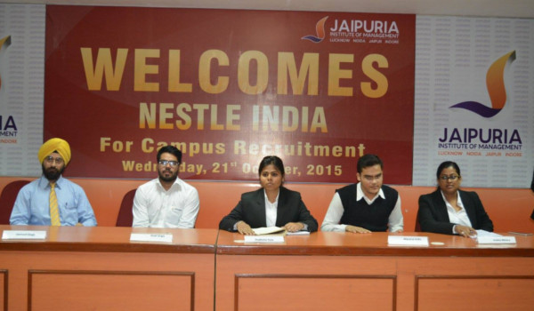 Panel discussion held by HR Club at Jaipuria, Noida has important