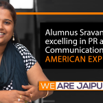 Alumnus Sravanti Ivaturi- excelling in PR and Communication with American Express