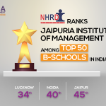 An ambitious year for Jaipuria Institute of Management as it witnesses a positive shift in NHRDN 2019 ranking