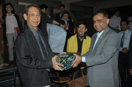 Delegation Visit from Naresuan University, Thailand