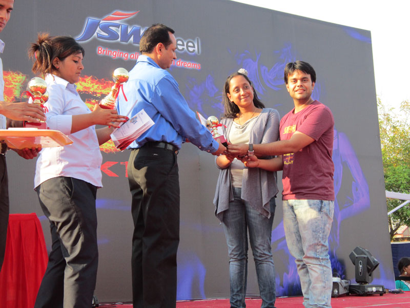 Winner of Verve2K13 annual fest of Jagan Institute