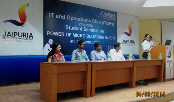 Information Technology Club(iTops) 2014