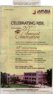 Celebrating Rise 20th on the occasion of Annual Convocation