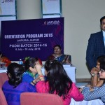 Jaipuria, Jaipur hosts Induction and Orientation programs for its students to acquaint them with the road ahead.