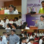 "Senior HR Professionals share their insights on ""Future-proofing"" and how to build a solid professional foundation at Jaipuria Jaipur"