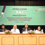 Industry experts present at the HR Summit at Jaipuria, Lucknow; offer students insight into what the industry expects of them as future managers.