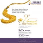 Jaipuria Institute of Management, Jaipur Announces Convocation