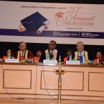 Shri Chandra Shekhar Ghosh, MD and CEO of Bandhan Bank graced 20th Annual Convocation Ceremony at Jaipuria Institute of Management, Lucknow