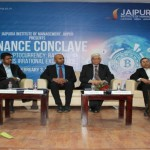 The 8th Finance Conclave of Jaipuria, Jaipur has Cryptocurrency- deliberated, discussed and decoded