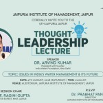 9th Thought Leadership Lecture