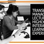 Transforming Management Lectures to a highly interactive learning experience, everything is possible at Jaipuria Institute of Management