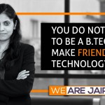 """""""You do not need to be a B.Tech. to make friends with Technology,"""" says alumna Deepti Mehra, the Head Digital and International Marketing at Micromax Informatics Ltd"""