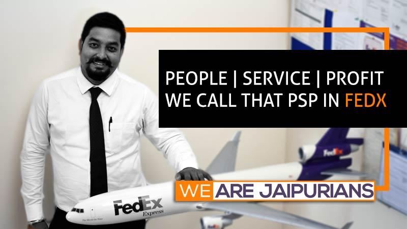 Becoming the Territory Manager at FedEx Express Jadumoni Das, PGDM 2015, Jaipuria Noida