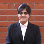 Ikroop Kaur Kalra's PGDM specialization is Marketing and she is now the new Asst. Store Manager to one of India's celebrated retail fashion brands