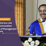 A. Balasubramanian, CEO – Aditya Birla Sun Life AMC Ltd. addresses 7th Convocation at Jaipuria Institute of Management, Indore