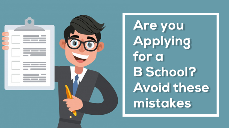 how to apply for a B School