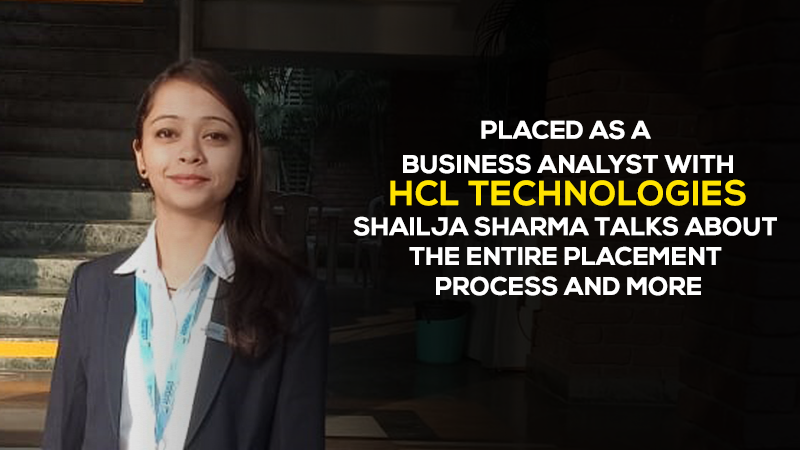Shailja Sharma talks about the entire placement process and more