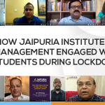 How Jaipuria Institute of Management engaged with students During Lockdown