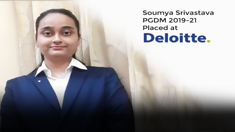 At Jaipuria, Soumya Srivastava got more than an MBA and Placement