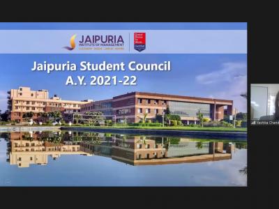 Orientation and Induction Program (Batch 2021 – 23) at Jaipuria Institute of Management, Jaipur