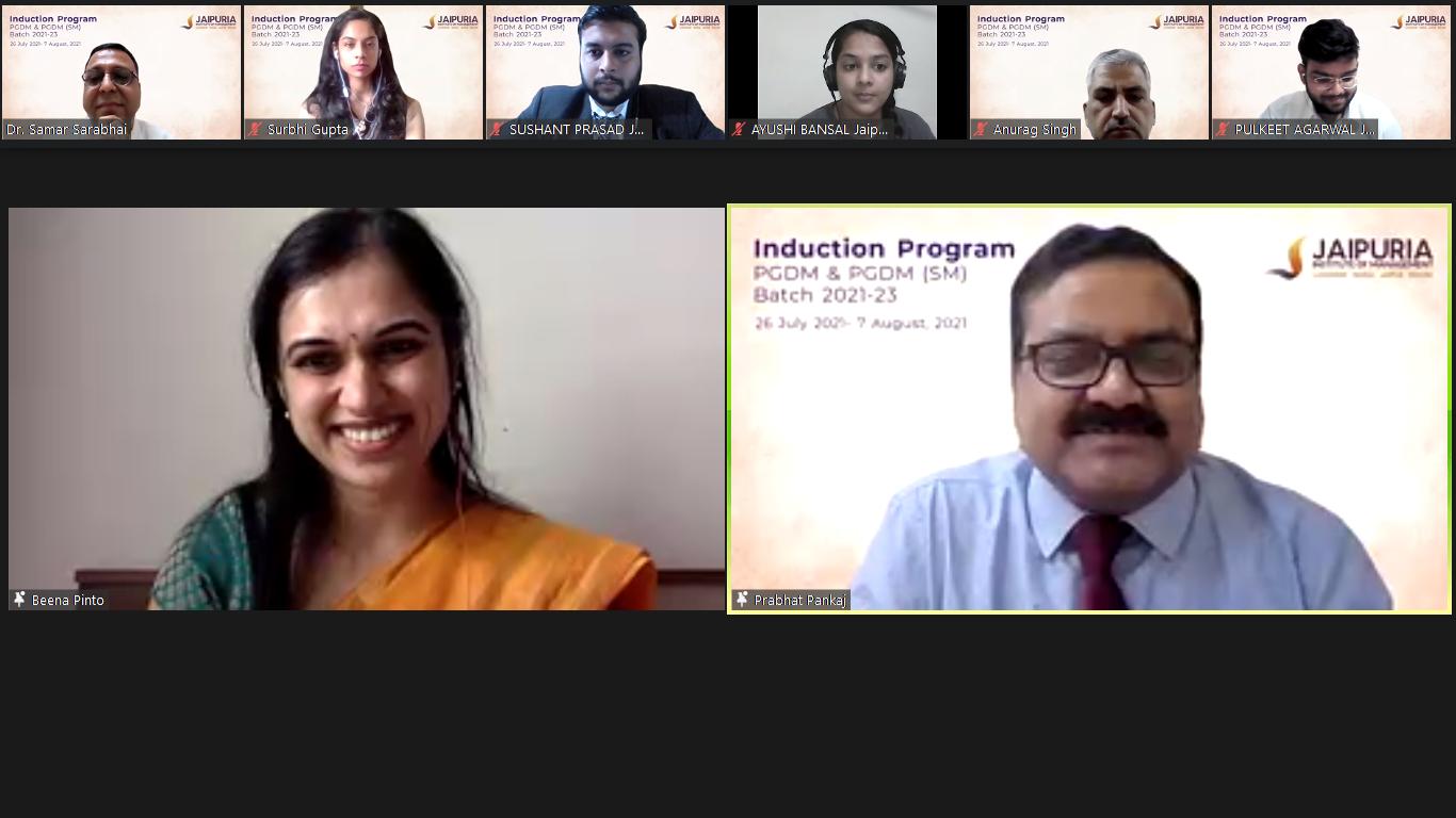 Orientation and Induction Program - Jaipuria Institute of Management, Jaipur