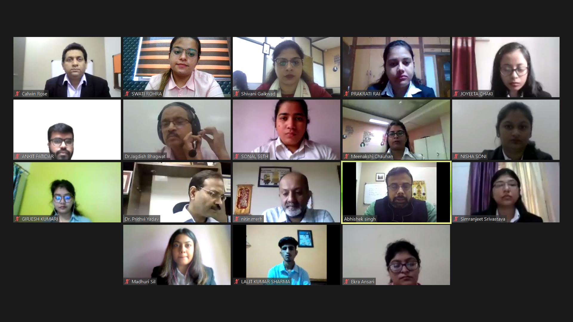 Orientation Induction Program Jaipuria Institute of Management, Indore