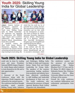 Skilling Young India for Global Leadership