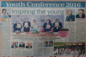 Youth conference 2016 inspiring the young: Economic Times