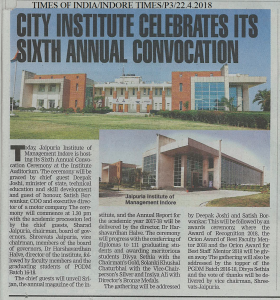 City Institute Celebrates Its Sixth Annual Convocation