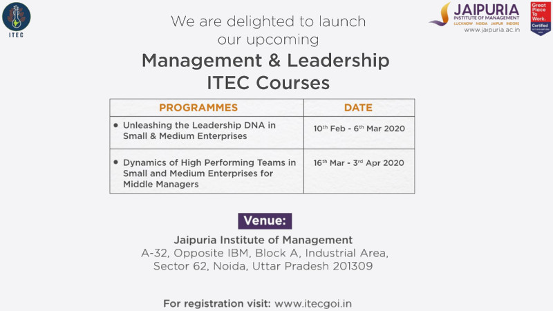 Management & Leadership ITEC Courses