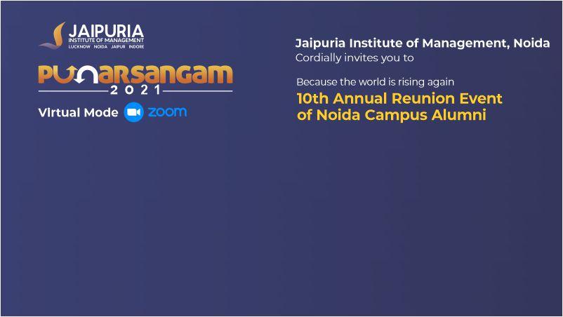 Punarsangam at Jaipuria Management Institute Noida