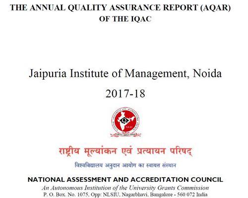 Noida-EC(SC)-ANNUAL QUALITY ASSURANCE REPORT(AQAR) 2017-18