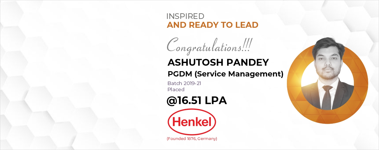 Placement at Henkel from best PGDM college in Delhi NCR